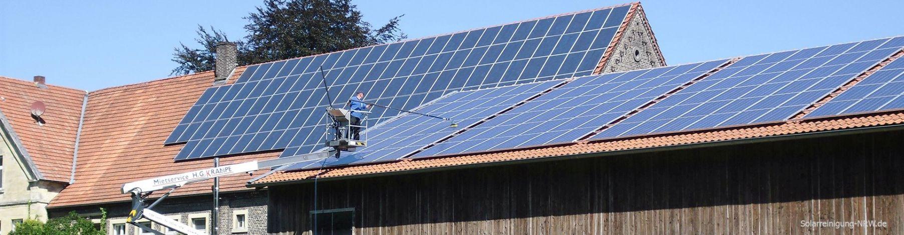 Solarreinigung NRW – Solarreinigung Münster