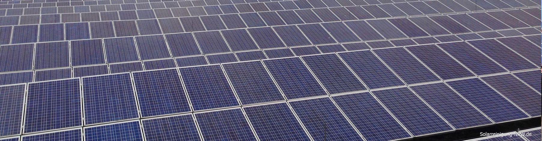 Solarreinigung NRW – Solarreinigung Münsterland